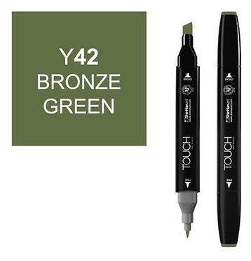 Touch Marker Y42 BRONZE GREEN