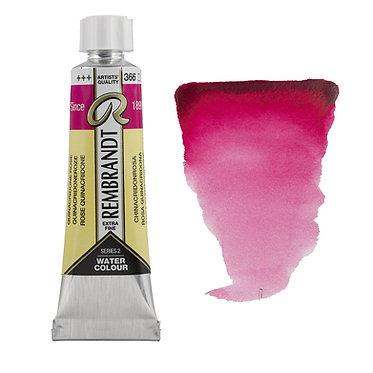 Aquarelle Extra-fine Rembrandt tube 10ml - Rose Quinacridone  366 S2