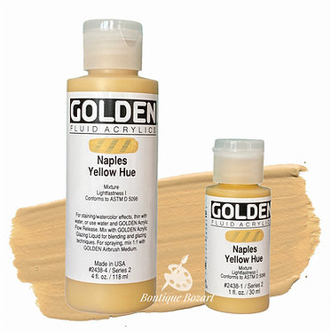 Golden Fluide Acryl - Naples Yellow Hue S2