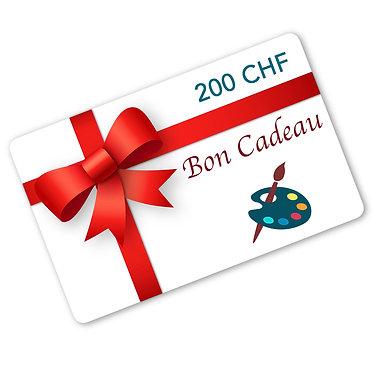 Carte-Cadeau Valeur 200