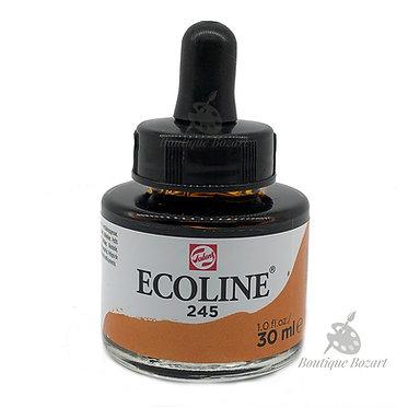 Encre Aquarelle Ecoline 30ml Jaune Safrané 245