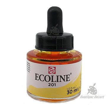 Encre Aquarelle Ecoline 30ml Jaune Clair 201