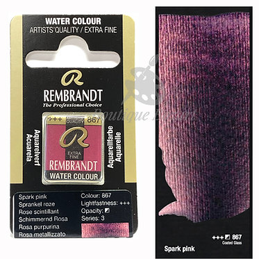 Aquarelle Extra-fine Rembrandt - Rose Scintillant 867 série 3