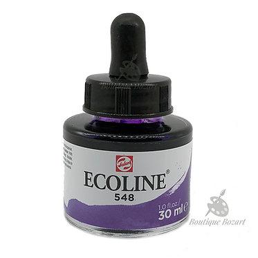 Encre Aquarelle Ecoline 30ml Violet Bleuâtre 548