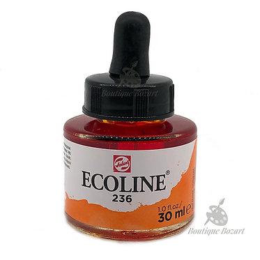 Encre Aquarelle Ecoline 30ml Orange Clair 236