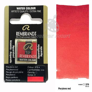 Aquarelle Extra-fine Rembrandt - Rouge de Pérylène 379 série 3