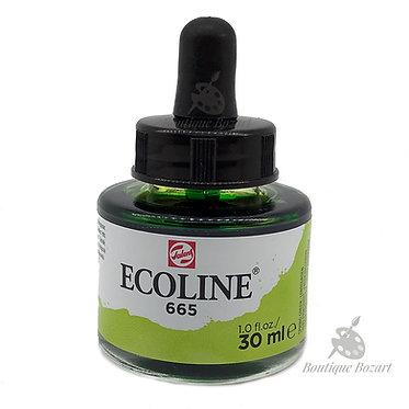 Encre Aquarelle Ecoline 30ml Vert Printemps 665