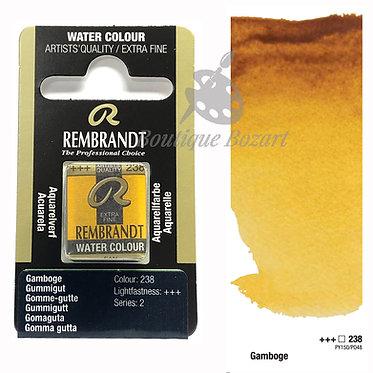 Aquarelle Extra-fine Rembrandt - Gomme-Gute 238 série 2