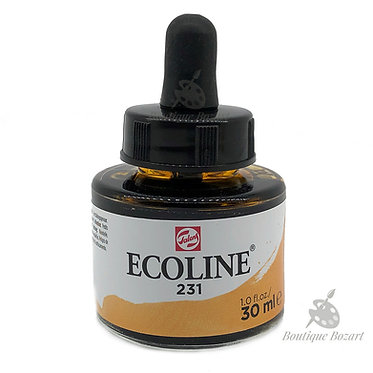 Encre Aquarelle Ecoline 30ml Ocre D'Or 231
