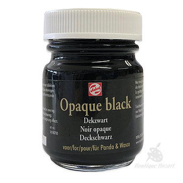 Noir Opaque (Noir à gratter) de Talens