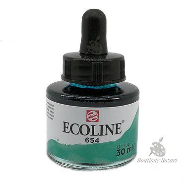 Encre Aquarelle Ecoline 30ml Vert Pin 654