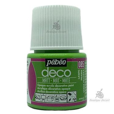 Peinture décorative opaque Deco Mat Vert prairie 085