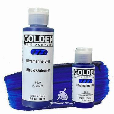 Golden Fluide Acryl - Ultramarine Blue S2
