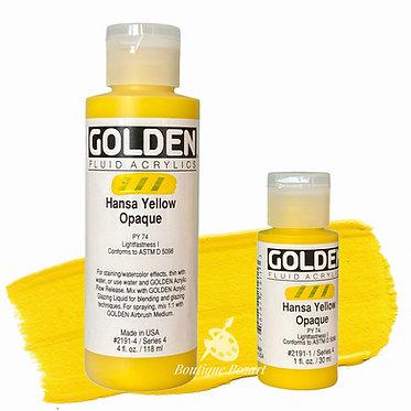 Golden Fluide Acryl - Hansa Yellow Opaque S4