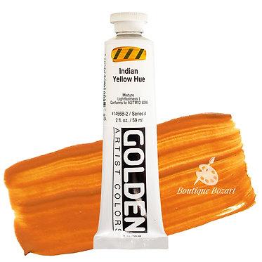 Acrylique Golden Heavy Body 59ml Jaune Indien 455 S4