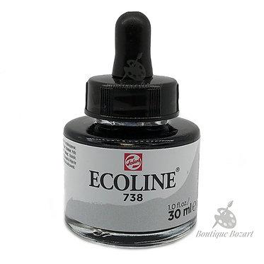 Encre Aquarelle Ecoline 30ml Gris Froid Clair 738