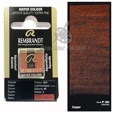 Aquarelle Extra-fine Rembrandt - Cuivre 805 série 3