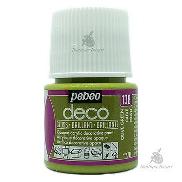 Peinture décorative opaque Deco Brillant Olive 138