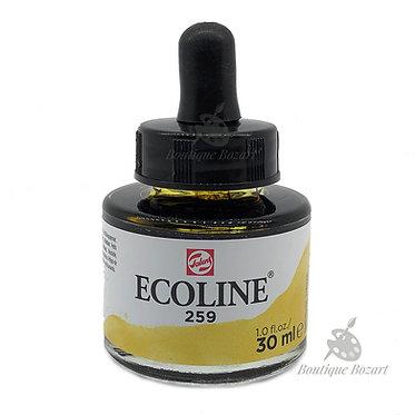 Encre Aquarelle Ecoline 30ml Jaune de sable 259
