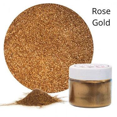 Resi-TINT Poudre métallique Or Rose