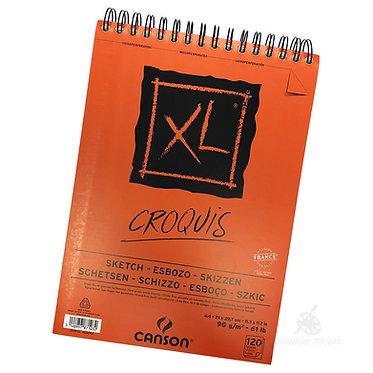 Bloc papier XL Croquis A4 de Canson