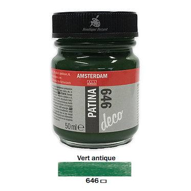 Patine DECO Amsterdam 50ml Vert antique 646