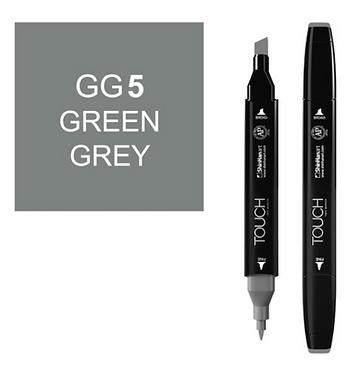 Touch Marker GG5 GREEN GREY