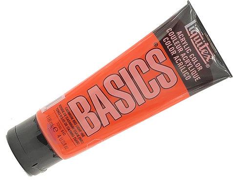 Acrylique Basics Rouge Cadmium Clair 510
