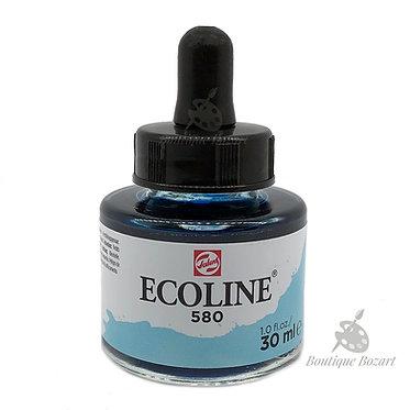 Encre Aquarelle Ecoline 30ml Bleu Pastel 580