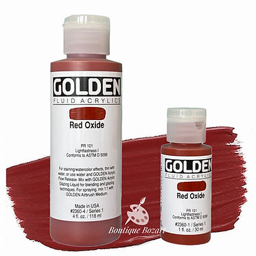 Golden Fluide Acryl - Red Oxide S1