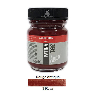 Patine DECO Amsterdam 50ml Rouge antique 391