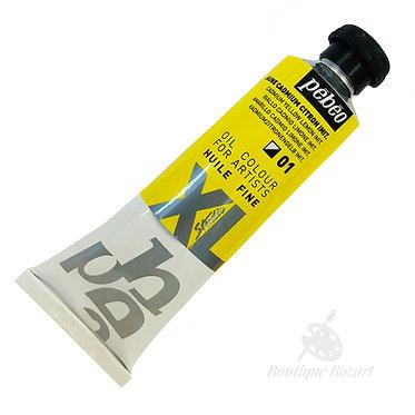 Huile fine XL 37ml Jaune cadmium citron imit. 01