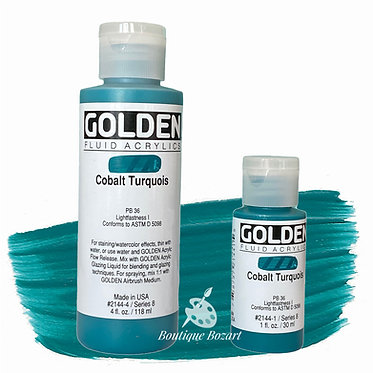 Golden Fluide Acryl - Cobalt Turquoise S8