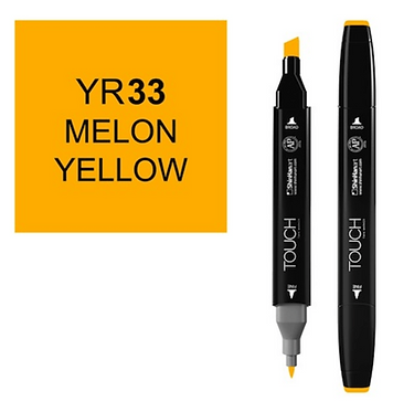 Touch twin brush / marker YR33 MELON YELLOW