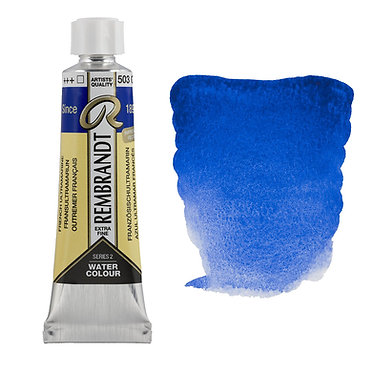 Aquarelle Extra-fine Rembrandt tube 10ml - Outremer 506 S1