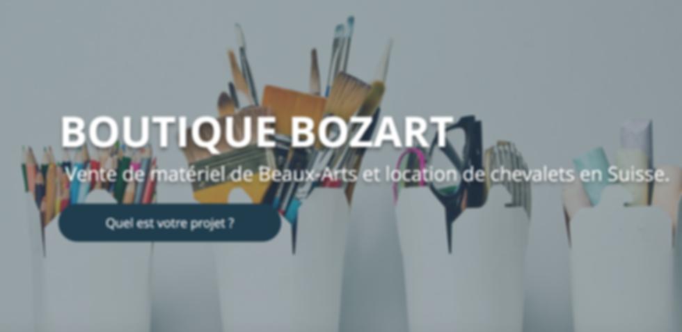 Boutique de Beaux-arts Suisse Romande