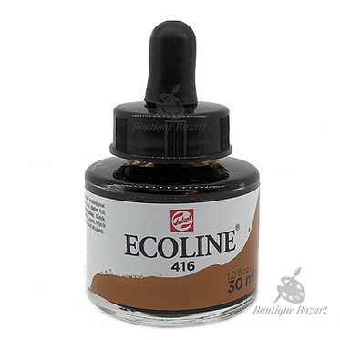 Encre Aquarelle Ecoline 30ml Sépia 416