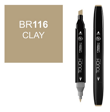 Touch Marker BR116 CLAY
