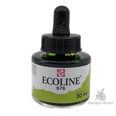 Encre Aquarelle Ecoline 30ml Vert D'Herbe 676