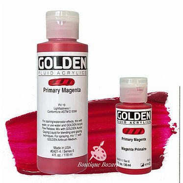Golden Fluide Acryl - Quinacridone Magenta S7