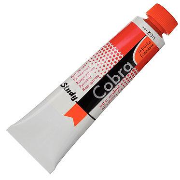 Huiles dilluable à l'eau Cobra Study Rouge Pyrrole 315