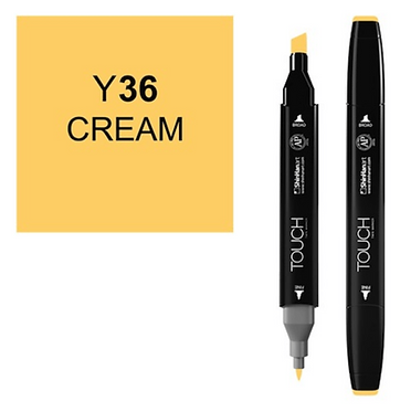 Touch twin brush / marker Y36 CREAM