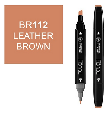 Touch Marker BR112 LEATHER BROWN