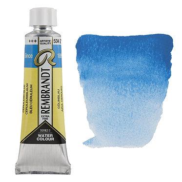Aquarelle Extra-fine Rembrandt tube 10ml - Bleu Ceruleum 534 S3