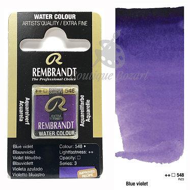 Aquarelle Extra-fine Rembrandt - Violet Bleuâtre  548 série 3