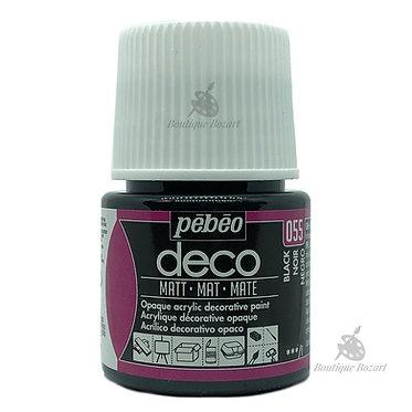 Peinture décorative opaque Deco Mat Noir 055
