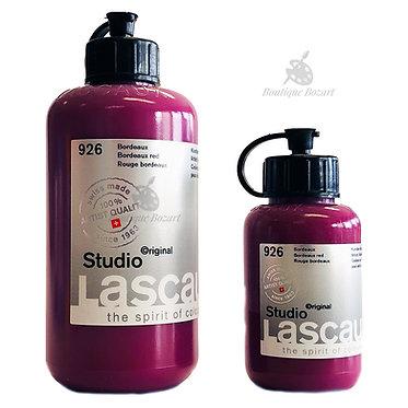 Acrylique Studio de Lascaux Rouge bordeaux 926