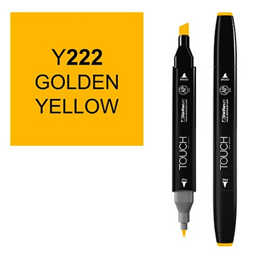 Touch marker Y222 GOLDEN YELLOW