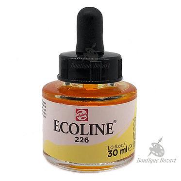 Encre Aquarelle Ecoline 30ml Jaune Pastel 226