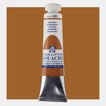 Gouache Extra-fine Quality Talens - Or foncé 803